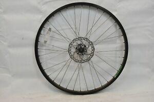 """Alexrims DM24 26"""" Bike Wheel OLW100 24mm 36S AV Doublewalled Black Disc Charity!"""