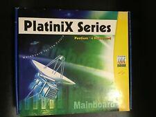 ✔ new QDI PlatiniX 4x socket 423 RIMM motherboard rare collectible!