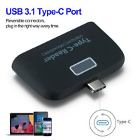 Useful Micro SD Memory Card Reader USB C 3.1 Type C to USB 3.0 OTG HUB Adapter