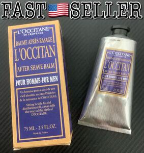 L'Occitane Moisturizing L'Occitan Men's After Shave Balm 2.5oz/75ml - NEW IN BOX