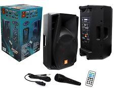 MR DJ USA PRO DJ/PA SPEAKER USB/SD/BT/AUX PM-2880BAT