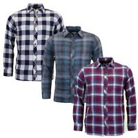 Attire Mens Quilted OverShirt Shacket   Casual Work Shirt MWS-062