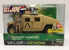 GI Joe Desert Humvee with Duke Valor Vs Venom MISB