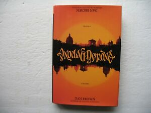 Angels & Demons - Dan Brown - Signed 1st Edition - 2000 - 1st Printing