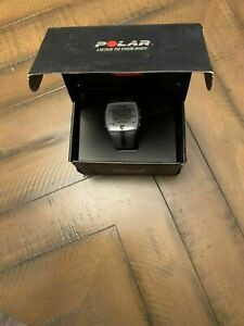 Polar FT4 Heart Rate Monitor Watch, Silver Black, 90039178