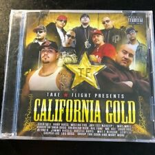 TAKE FLIGHT PRESENTS-CALIFORNIA GOLD -VARIOUS RAP-NEW SEALED CD