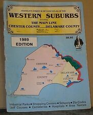 1989 Franklin Zip Code Atlas for Western Suburbs, The Main Line Chester County