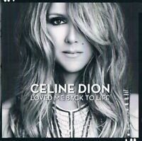 CELINE DION loved me back to life (CD, album, 2013) ballad, chanson, very good,