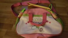 DIDDLINA SPORTS BAG - KIDS Pink and Green Zipper Strap 18x12 in. Depesche DIDDLE