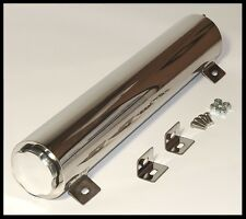 "2""X15"" POLISHED ALUMINUM RADIATOR OVERFLOW TANK PC673-A-ALUMINUM"