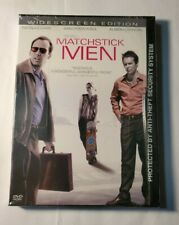 Matchstick Men Dvd New And Sealed Nicolas Cage Snapcase