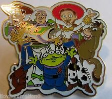 Disney Family Collection Toy Story Woody Buzz LightYear Jessie Pin