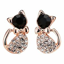 1Pair Lady Delicate Crystal Rhinestone Ear Stud Earrings Jewelry For Girl Gift