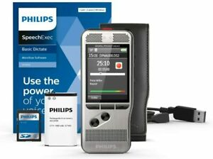 Philips DPM6000/02 Pocket Memo with SpeechExec Dictate V11 2 Year License