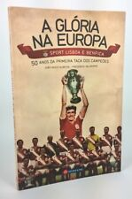 SL BENFICA Portugal Football 50 Years First European Cup