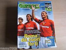 GUERIN SPORTIVO=N°31 2004=FRANCESCO TOTTI ROMA=BRASILE=LECCO=JACK CHARLTON=ILIEV