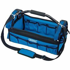 "Draper 85751 16""Tools Garage Workshop Builders 420mm Tote Tool Carry Bag New"