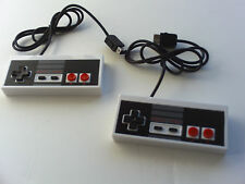 2X  New Wii & Wii U Nintendo Nes System Console Controller Control Pad MINI 6ft