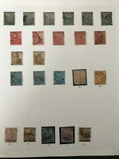 Stamps Cape of Good Hope Selection of 55 Stamps Values to 5/- SG 31, 54, 78