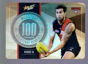 2015 Select Milestone Game Card -  Courtenay Dempsey,  MG25