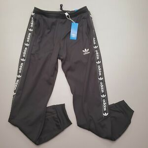 NEW Adidas Men's On Edge Jogger Black GQ6037 Logo Drawstring $80.00