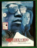 MURDER AT 1600 - DELITTO ALLA CASA BIANCA (1997) - DVD USATO - CUSTODIA SNAPPER