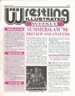 AUGUST 29 1994 PRO WRESTLING ILLUSTRATED WEEKLY MAGAZINE BRET HART HIT MAN WWF