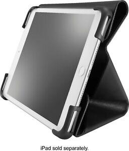 "Insignia - FlexView Folio Case for Most 7"" Tablets - Black"