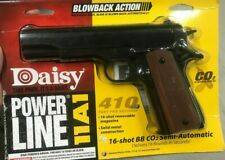 DAISY POWER LINE 11A1 CO2 POWERED SEMI AUTO BB GUN .177