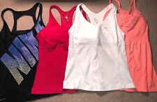 Lot Of 4 Work Out Tops Sports Athletic Tank Tops Nike Womens Medium