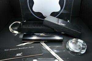 Montblanc HARD-TO-FIND, Vintage Black RESIN Pen CASE for 1-3 pens - PRISTINE