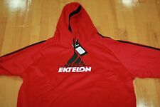 Ektelon TEAM PULLUP with HOODIE  RED/BLACK/WHIT SIZE MENS XL EXTRA LARGE