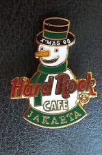 HRC Hard Rock Cafe Jakarta Christmas 1998 Snowman
