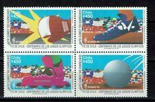 Briefmarken Olympische Spiele Chile postfrisch