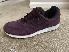 New Balance Men's Trailbuster Tennis Running Shoes Sz 10 Maroon Suede