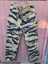 TIGER STRIPE UTILITY TROUSERS PANTS.GOLD TIGERSTRIPE CAMO.BRAND NEW.W33X30