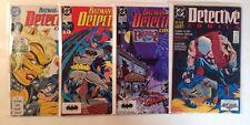 Detective Comics 598 615 622 624 Near Mint Lot Set Run