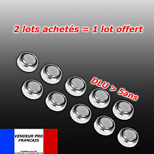 Lot x 10 pile bouton AG4 LR66 SR66 LR626 SR626 626A