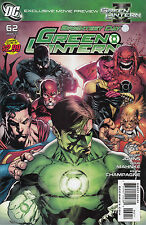 GREEN LANTERN 62...NM-...2011...Geoff Johns,Doug Mahnke!...Bargain!