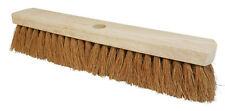 "18"" COCO Soft Bristle Broom Brush Head Yard Sweeping"
