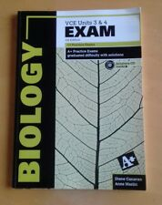 Biology VCE Units 3 & 4 A+ Practice Exams 1st edition with CD