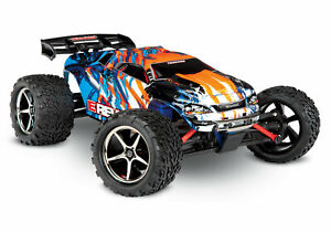 Traxxas E-Revo 4x4 Orange RTR Brushed 1/16 Racing Stadium Truck 71054-1 Truggy
