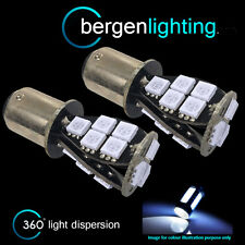 380 P21/5W BAY15D 1157 WHITE 18 SMD LED STOP TAIL BRAKE LIGHT BULBS HID ST201102