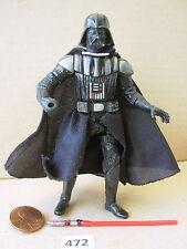 """Star Wars 2005 DARTH VADER Light Saber Attack ROTS 3.75"""" Figure COMPLETE"""