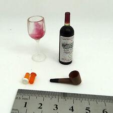 XE05-07 1/6 Scale HOT ZCWO Blackjack Bottle & Glass & Pipe TOYS
