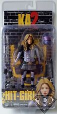 """HIT-GIRL (UNMASKED) Kick Ass 2 Movie 7"""" inch Action Figure Series 2 Neca 2014"""