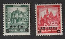 Reich Germany MNH Nothilfe Michel 463-64 Michel $55+  a