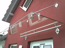 "Edelstahl Glas Vordach""Phoenix"" Vordächer inkl.16mm VSG-TVG Glas Vordach"