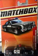 1:64 MATCHBOX 1978 DODGE MONACO POLICE CAR NUOVA E SIGILLATA