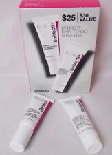 StriVectin Skin 2 Piece SET Perfect Skin To Go For WRINKLES Face And Eyes NIB